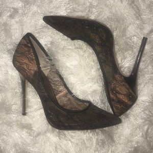 Beautiful lace BcbgMaxazria heels!